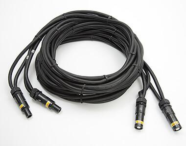 Câble de puissance, refroidi par air