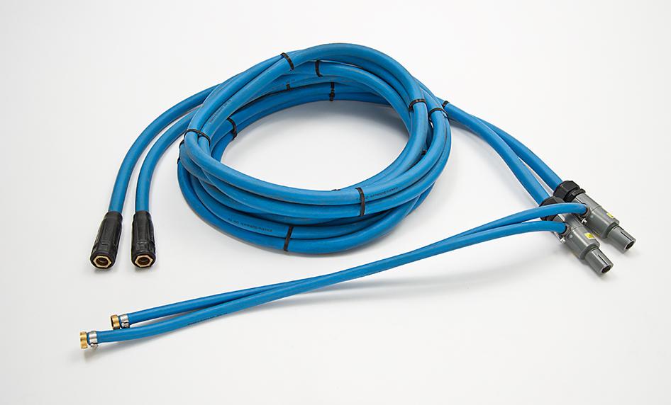 Câble de puissance, refroidi avec de l'eau